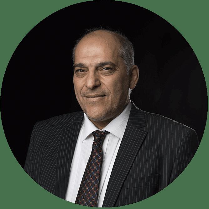 منصور سراجها رئیس هیئت مدیره شرکت نخ دندان مینا