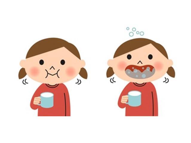 آموزش استفاده از دهان شویه | سلامت دهان و دندان کودک | نخ دندان مینا
