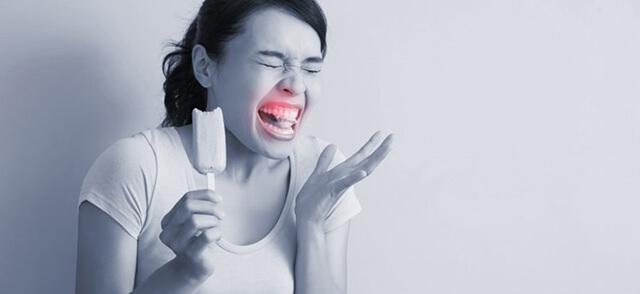 حساسیت دندان ساییده شده به مواد سرد | شرکت ستاره گنبد مینا