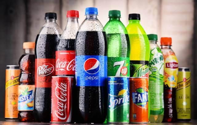 مواد غذایی رنگی ، انواع نوشابه | شرکت نخ دندان مینا