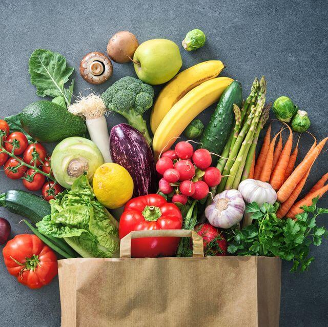 مواد غذایی رنگی ، سبزیجات | شرکت نخ دندان مینا